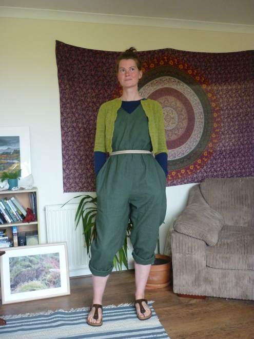 In the folds peppermint jumpsuit Heatherymakes (1)