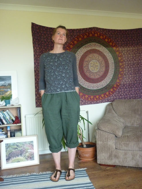 In the folds peppermint jumpsuit Heatherymakes (10)