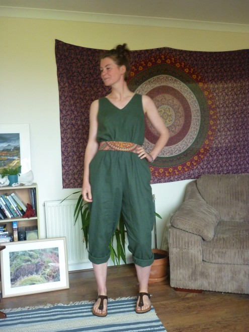 In the folds peppermint jumpsuit Heatherymakes (7)