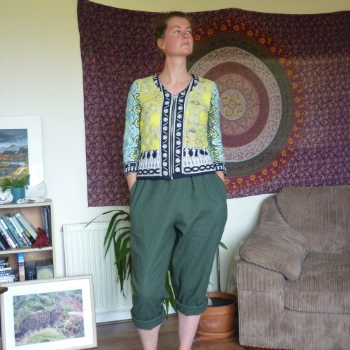 In the folds peppermint jumpsuit Heatherymakes (9)