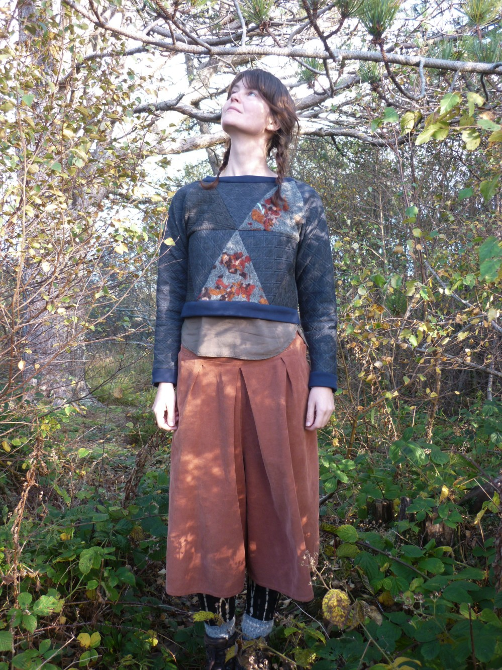 Geodesic sweater Blueprints for sewing (12)