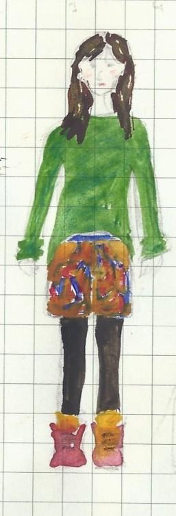 Ness skirt and jumper