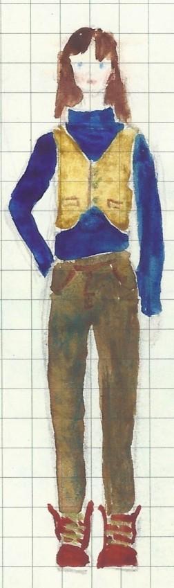 Sasha trousers and waistcoat
